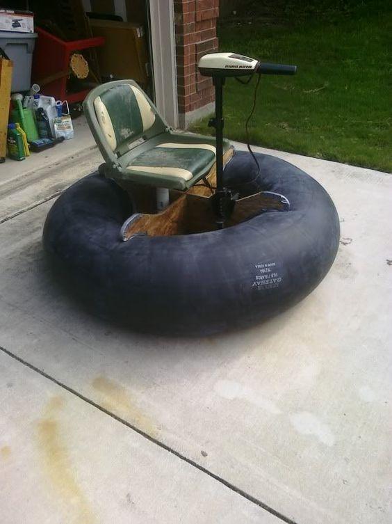 Minimalistická varianta rybářského pontonu